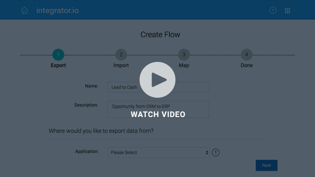 Integrator Video : Creating a Flow