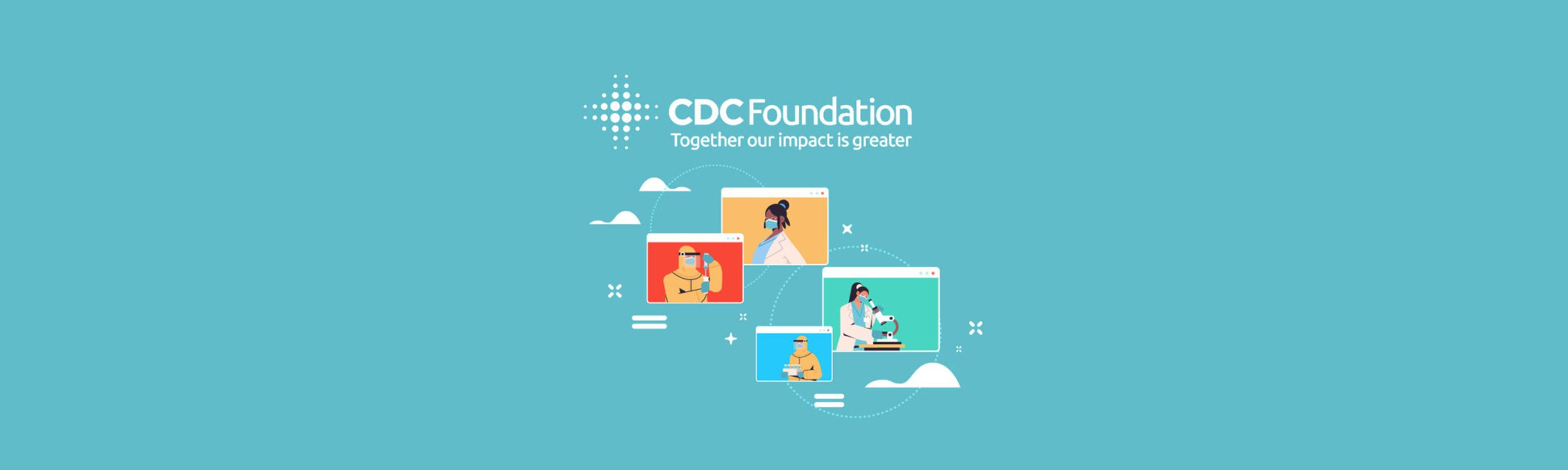 Characters of CDC Foundation doctors and researchers