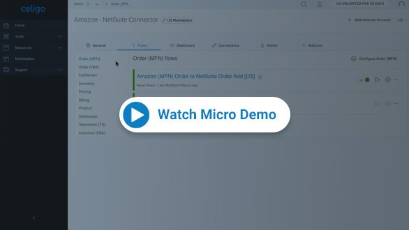 AmazonMCF-NetSuite Integration Demo